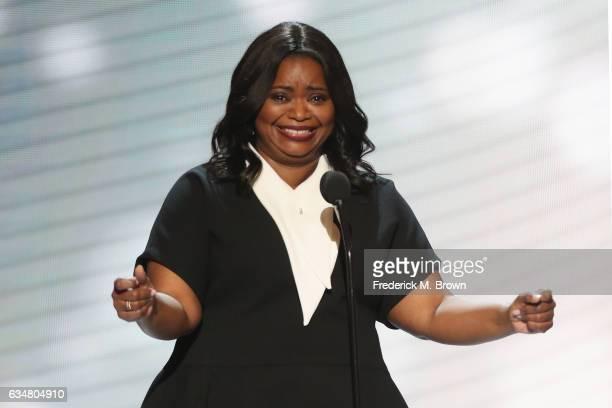 Actress Octavia Spencer onstage at the 48th NAACP Image Awards at Pasadena Civic Auditorium on February 11, 2017 in Pasadena, California.