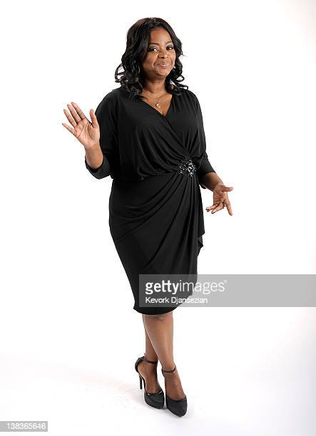 Actress Octavia Spencer poses for a portrait during the 84th Academy Awards Nominations Luncheon at The Beverly Hilton hotel on February 6 2012 in...