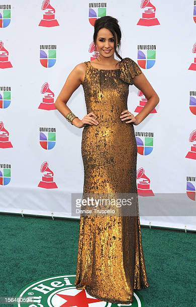 Actress Odalys Garcia arrives at the 13th annual Latin GRAMMY Awards held at the Mandalay Bay Events Center on November 15 2012 in Las Vegas Nevada