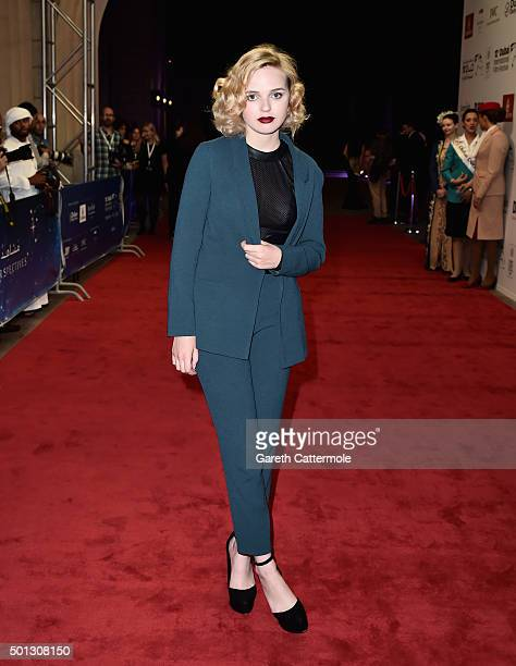 Actress Odessa Young attends 'The Daughter' premiere during day six of the 12th annual Dubai International Film Festival held at the Madinat Jumeriah...