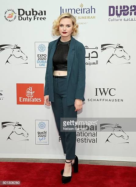 Actress Odessa Young attends The Daughter premiere during day six of the 12th annual Dubai International Film Festival held at the Madinat Jumeriah...