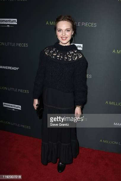 """Actress Odessa Young attends the special screening of Momentum Pictures' """"A Million Little Pieces"""" at The London Hotel on December 04, 2019 in West..."""