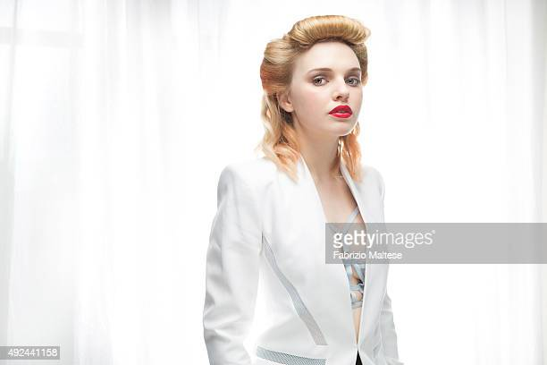 Actress Odessa Young is photographed for The Hollywood Reporter on September 5 2015 in Venice Italy