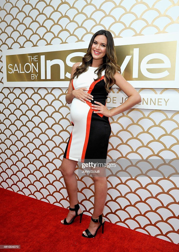 Actress Odette Annable, JCPenney And InStyle Celebrate The Debut Of The Salon By InStyle In Los Angeles