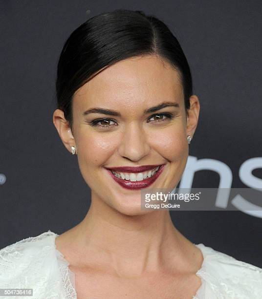 Actress Odette Annable arrives at the 2016 InStyle And Warner Bros 73rd Annual Golden Globe Awards PostParty at The Beverly Hilton Hotel on January...