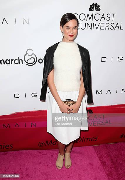 Actress Odette Annable attends the 2015 March Of Dimes Celebration Of Babies at the Beverly Wilshire Four Seasons Hotel on December 4 2015 in Beverly...