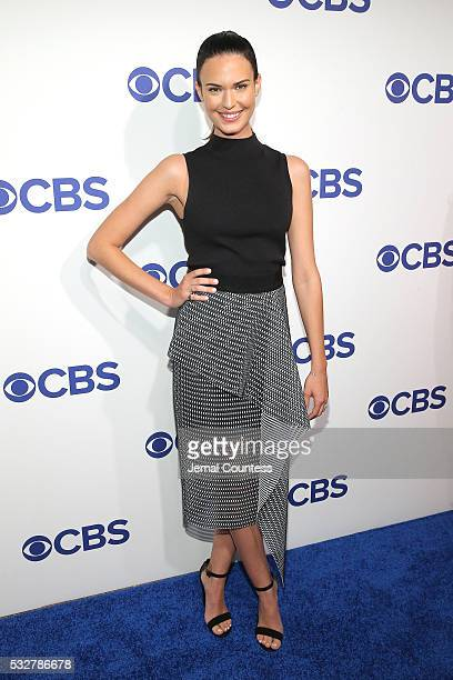 Actress Odette Annable attends the 2016 CBS Upfront at The Plaza on May 18 2016 in New York City