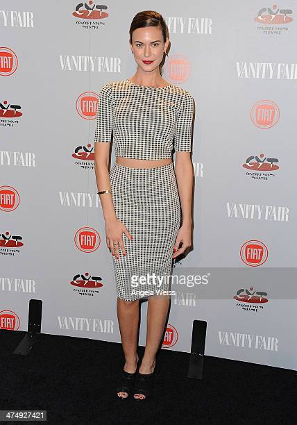 Actress Odette Annable attends the Vanity Fair Campaign Hollywood 'Young Hollywood' party sponsored by Fiat at No Vacancy on February 25 2014 in Los...