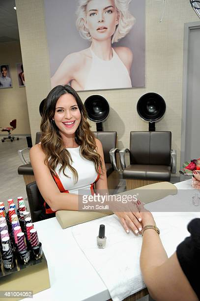 Actress Odette Annable celebrates the launch of The Salon by InStyle located exclusively at JCPenney on July 16 2015 in Los Angeles California