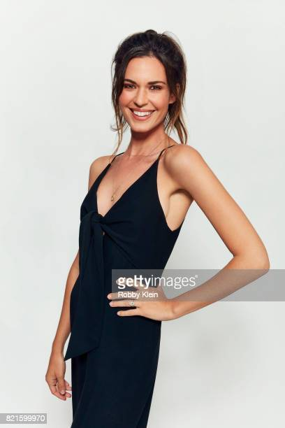 Actress Odette Annable from CW's 'Supergirl' poses for a portrait during ComicCon 2017 at Hard Rock Hotel San Diego on July 22 2017 in San Diego...