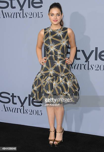 Actress Odeya Rush arrives at the InStyle Awards at Getty Center on October 26 2015 in Los Angeles California