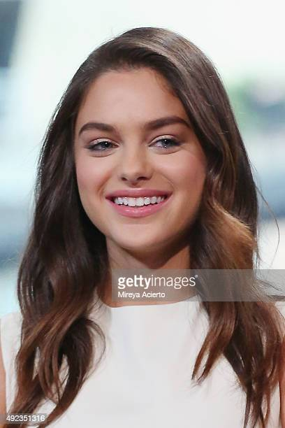 Actress Odeya Rush attends AOL Build Presents Goosebumps at AOL Studios In New York on October 12 2015 in New York City