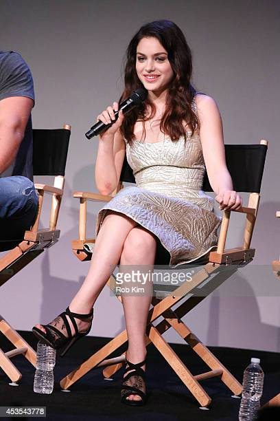 Actress Odeya Rush attends 'Meet The Filmmakers' at Apple Store Soho on August 12 2014 in New York City