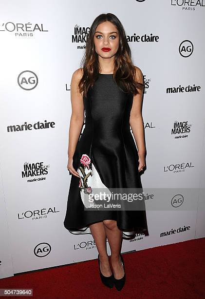 Actress Odeya Rush attends the 2016 Marie Claire Image Maker Awards at Chateau Marmont on January 12 2016 in Los Angeles California