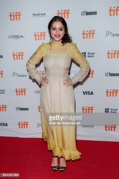Actress Odeya Rush attends the 'Lady Bird' premiere during the 2017 Toronto International Film Festival at Ryerson Theatre on September 8 2017 in...
