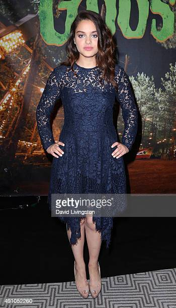 Actress Odeya Rush attends the photo call for Sony Pictures Entertainment's Goosebumps at The London West Hollywood on October 2 2015 in West...