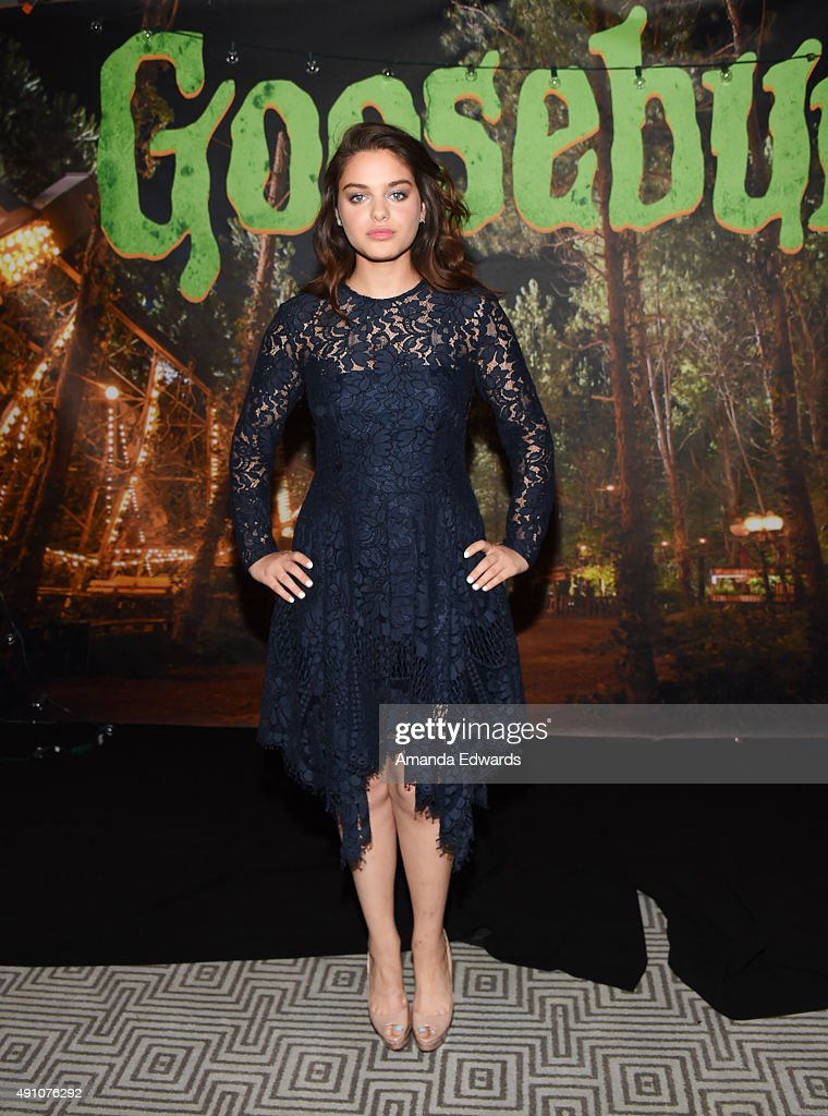 "Photo Call For Sony Pictures Entertainment's ""Goosebumps"""