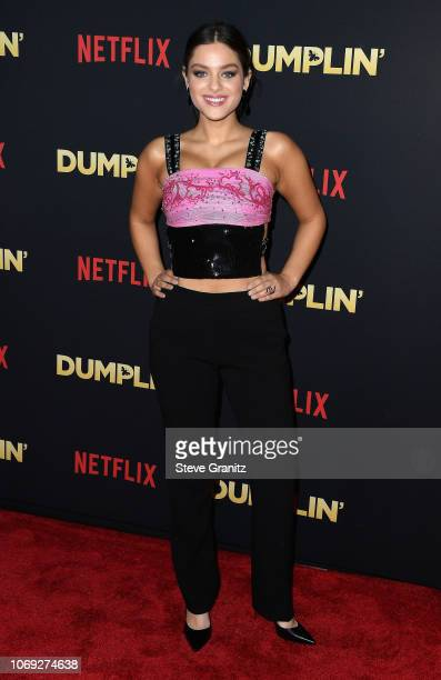 Actress Odeya Rush attends the premiere of Netflix's Dumplin' at TCL Chinese 6 Theatres on December 6 2018 in Hollywood California