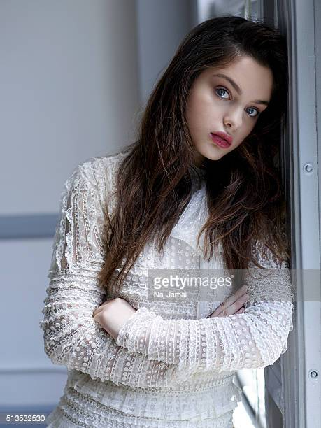Actress Odeya Rush is photographed for WhoWhatWearcom on July 27 2015 in Los Angeles California PUBLISHED IMAGE