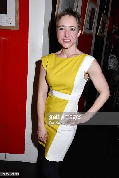 Actress Odile Vanhoutte attends the 'Polish Hope' Short Movie Screening Party at Cinema Grand Action on January 19 2016 in Paris France