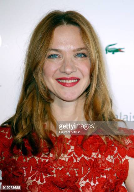 Actress Odile Vuillemin attends '25th Trophees du Film Francais' at Palais Brongniart on February 6 2018 in Paris France