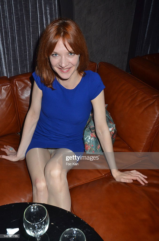 actress odile vuillemin attends the 39 dandy 39 magazine party at the photo d 39 actualit getty. Black Bedroom Furniture Sets. Home Design Ideas