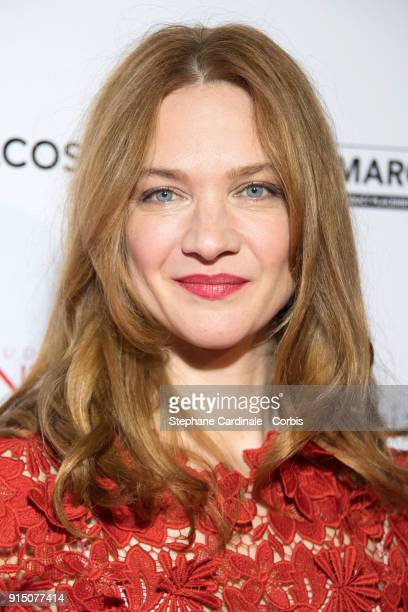 Actress Odile Vuillemin attends the 'Trophees du Film Francais' 25th Ceremony at Palais Brongniart on February 6 2018 in Paris France