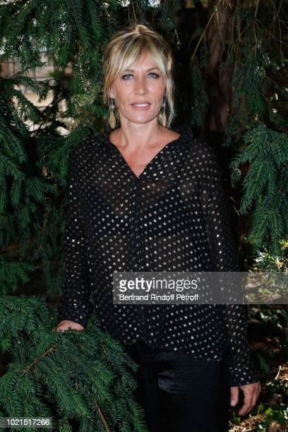 Actress of 'Edmond' Mathilde Seigner attends the 11th Angouleme FrenchSpeaking Film Festival Day Two on August 22 2018 in Angouleme France