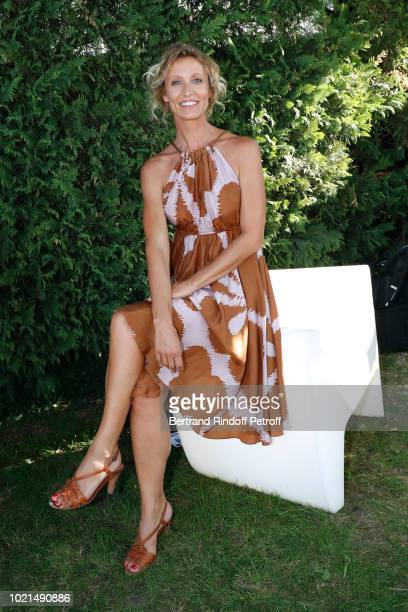 Actress of 'Le Poulain' Alexandra Lamy dressed in Diane von Furstenberg attends the 11th Angouleme FrenchSpeaking Film Festival Day Two on August 22...