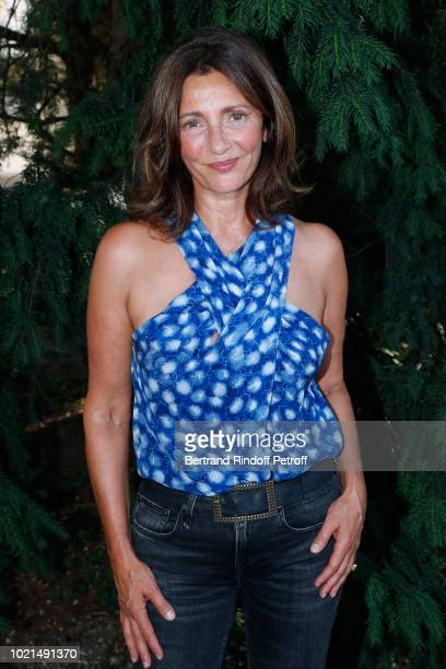 Actress of 'Le Poulain' Valerie Karsenti attends the 11th Angouleme FrenchSpeaking Film Festival Day Two on August 22 2018 in Angouleme France