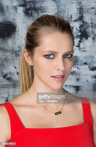 Actress of 'Lights Out' is photographed for Los Angeles Times at San Diego Comic Con on July 22 2016 in San Diego California