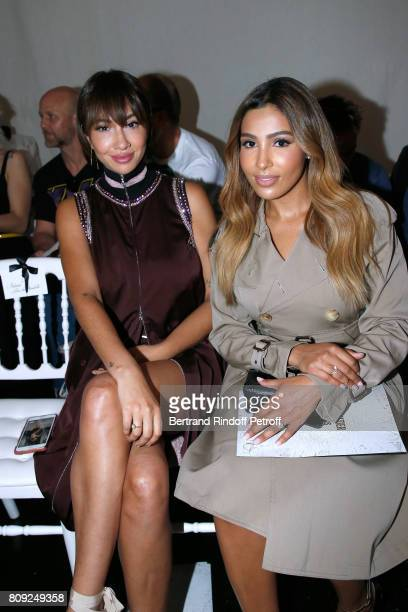 Actress of Netflix TV Series Orange Is the New Black Jackie Cruz and Majda Sakho attend the Jean Paul Gaultier Haute Couture Fall/Winter 20172018...
