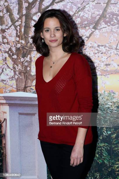 "Actress of the Clem Television Series Lucie Lucas attends Disney's ""Mary Poppins Returns Paris Gala Screening at UGC Cine Cite Bercy on December 10..."