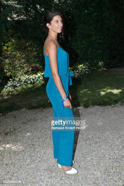 Actress of the film 'Un amour impossible' Estelle Lescure attends the 11th Angouleme FrenchSpeaking Film Festival Day Six on August 26 2018 in...