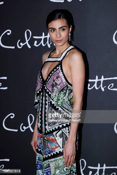 Actress of the movie Aiysha Hart attends the 'Colette' Paris Premiere at Cinema Gaumont Marignan on January 10 2019 in Paris France