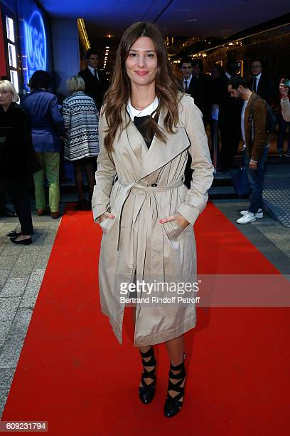 Actress of the movie Alice Pol attends the 'Cezanne et Moi' movie Premiere to Benefit 'Claude Pompidou Foundation' Held at UGC Normandie in Paris on...