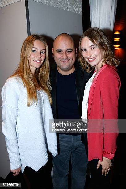 Actress of the movie Alicia Endemann CoDirector of the movie Jerome Commandeur and actress of the movie Deborah Francois attend the 'Ma famille...
