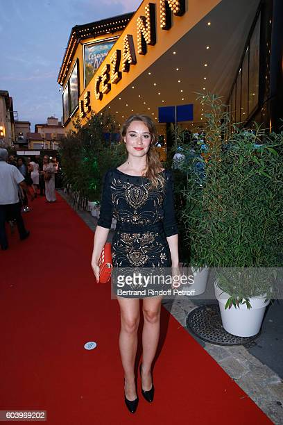 Actress of the movie Deborah Francois attends the Cezanne et Moi Premiere Held at the Cinema Le Cezanne on September 12 2016 in AixenProvence France