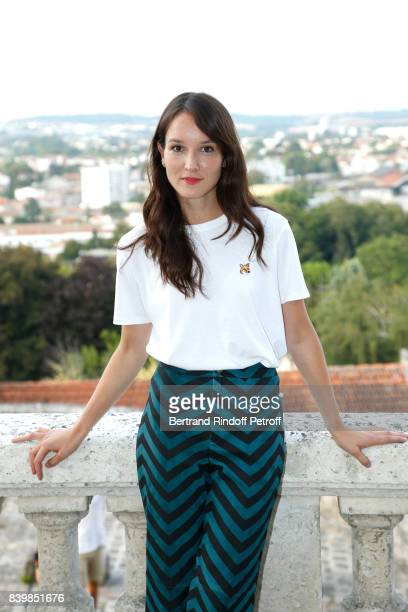 """Actress of the movie """" Demain et tous les autres jours"""",Anais Demoustier attends the 10th Angouleme French-Speaking Film Festival : Day Five on..."""