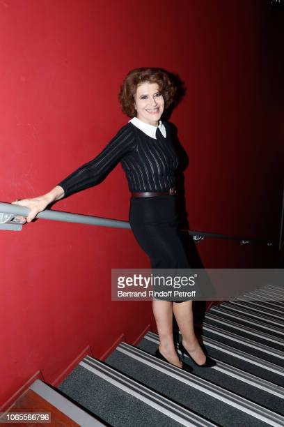 Actress of the movie Fanny Ardant attends the Ma Mere est Folle Paris Premiere at Publicis Champs Elysees on November 26 2018 in Paris France