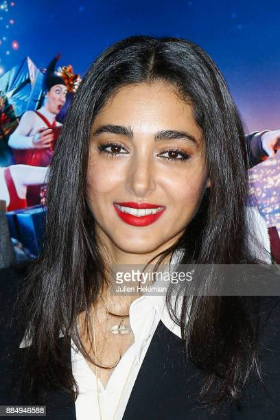 Actress of the movie Golshifteh Farahani attends 'Santa Cie' Paris Premiere at Cinema Pathe Beaugrenelle on December 3 2017 in Paris France