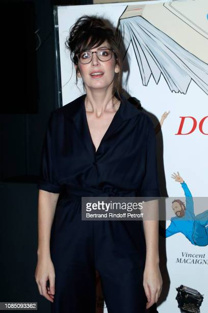 Actress of the movie humorist Nora Hamzawi attends the Doubles Vies Premiere at UGC Cine Cite les Halles on December 20 2018 in Paris France