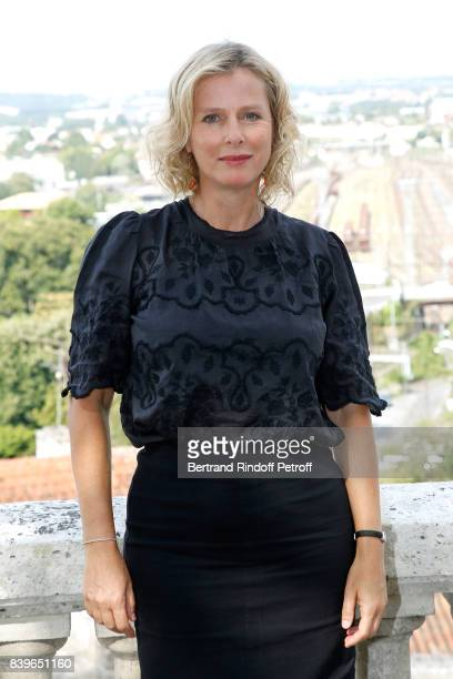 Actress of the movie 'Jalouse' Karin Viard attends the 10th Angouleme FrenchSpeaking Film Festival Day Five on August 26 2017 in Angouleme France