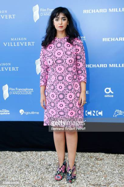 Actress of the movie La belle et la meute Mariam Al Ferjani attends the 10th Angouleme FrenchSpeaking Film Festival Day Three on August 24 2017 in...