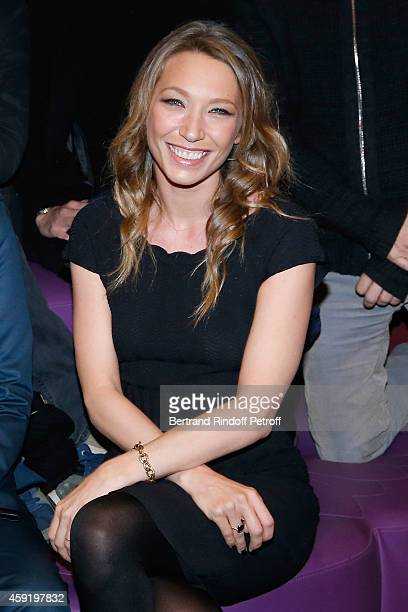 Actress of the movie Laura Smet attends the 'Eden' Paris Premiere at Cinema Gaumont Marignan on November 18 2014 in Paris France