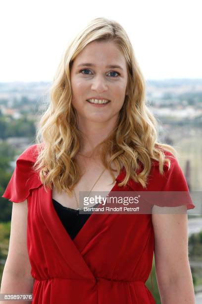 Actress of the movie 'Le petit Spirou' Natacha Regnier attends the 10th Angouleme FrenchSpeaking Film Festival Day Six on August 27 2017 in Angouleme...