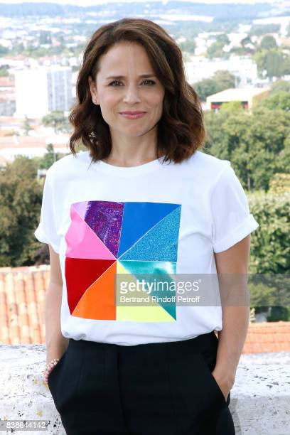 Actress of the movie 'Le rire de ma mere' Suzanne Clement attends the 10th Angouleme FrenchSpeaking Film Festival Day Three on August 24 2017 in...