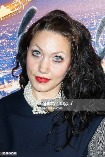 Actress of the movie Louise Chabat attends 'Santa Cie' Paris Premiere at Cinema Pathe Beaugrenelle on December 3 2017 in Paris France