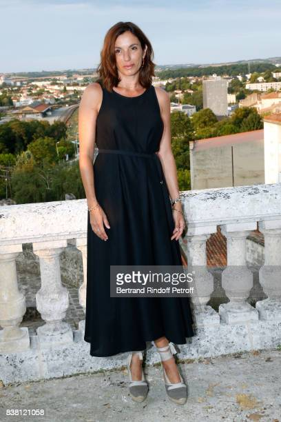 Actress of the movie L'un dans l'autre Aure Atika attends the 10th Angouleme FrenchSpeaking Film Festival Day Two on August 23 2017 in Angouleme...