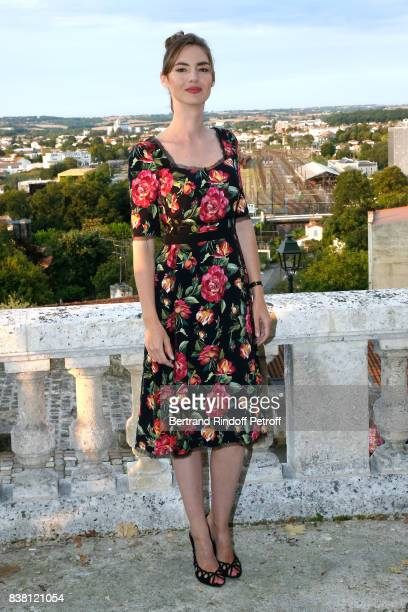 Actress of the movie 'L'un dans l'autre' Louise Bourgoin attends the 10th Angouleme FrenchSpeaking Film Festival Day Two on August 23 2017 in...